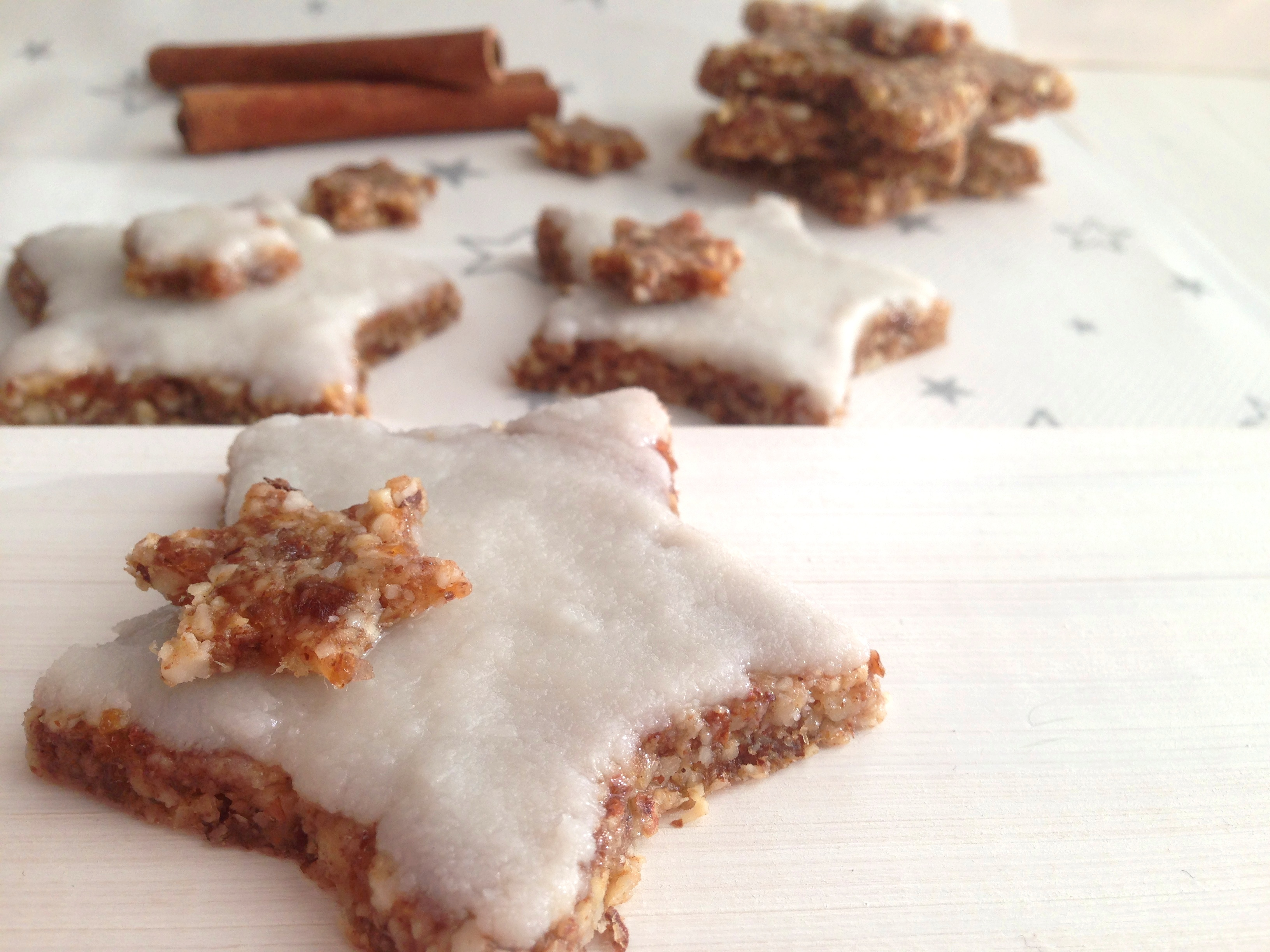 Star Shaped Cinnamon Cookies Zimtsterne