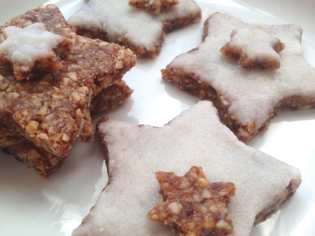 star shaped cinnamon cookies zimtsterne german christmas