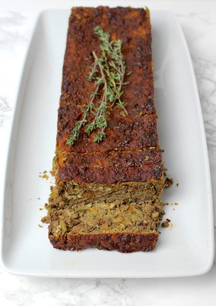 lentil loaf vegan gluten free