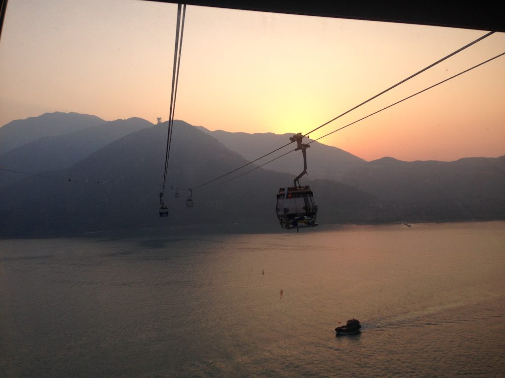 Cable Car Big Buddha Hongkong
