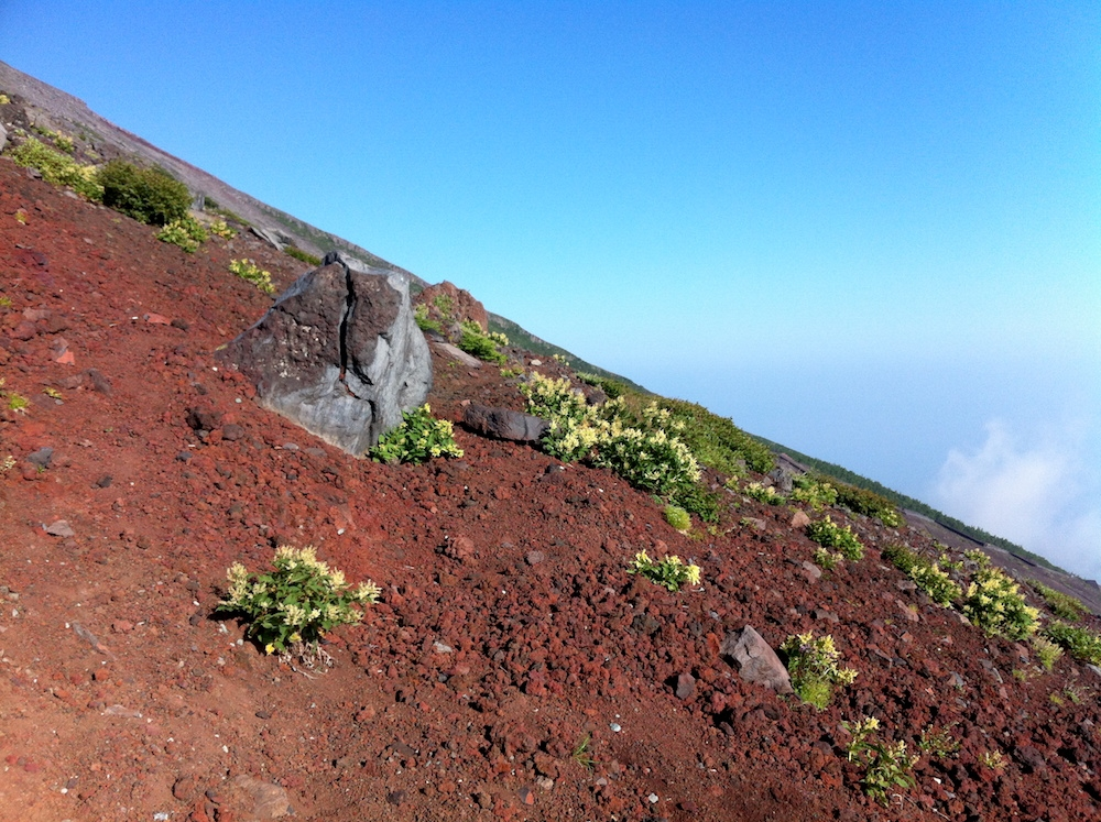Fuji Wanderung Vulkan