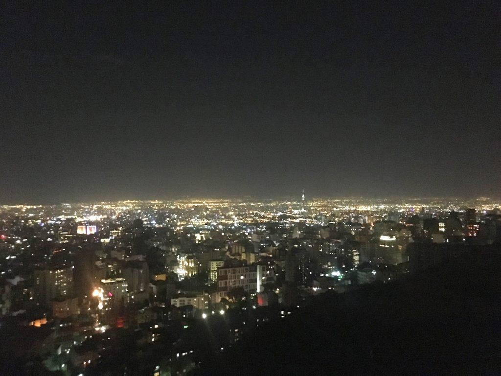 Tochal View Tehran