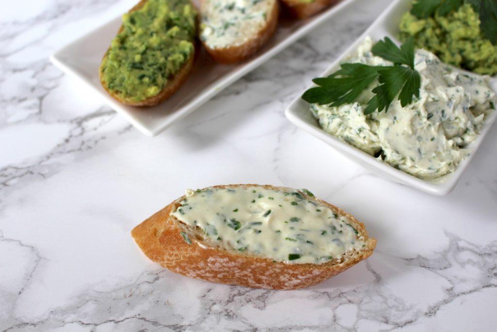 Kräuterbutter vegan Grillen
