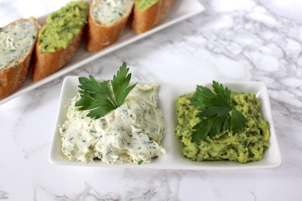 vegane herb butter