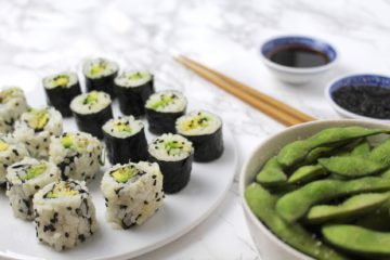 Sushi vegan Avocado Maki