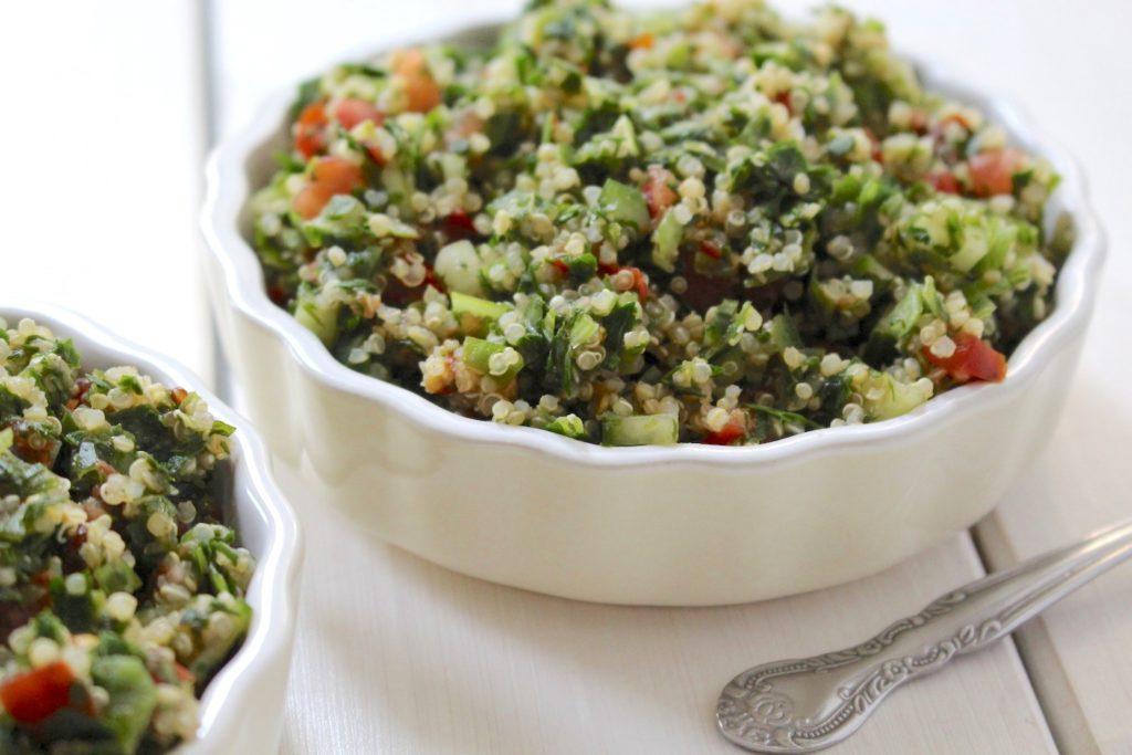 Quinoa Tabouleh Taboulé mit Petersilie & Minze