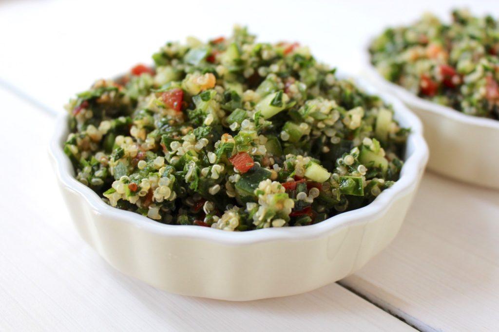 Quinoa Tabouleh Petersilie & Minze