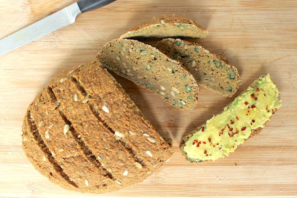 Gluten free bread vegan recipe