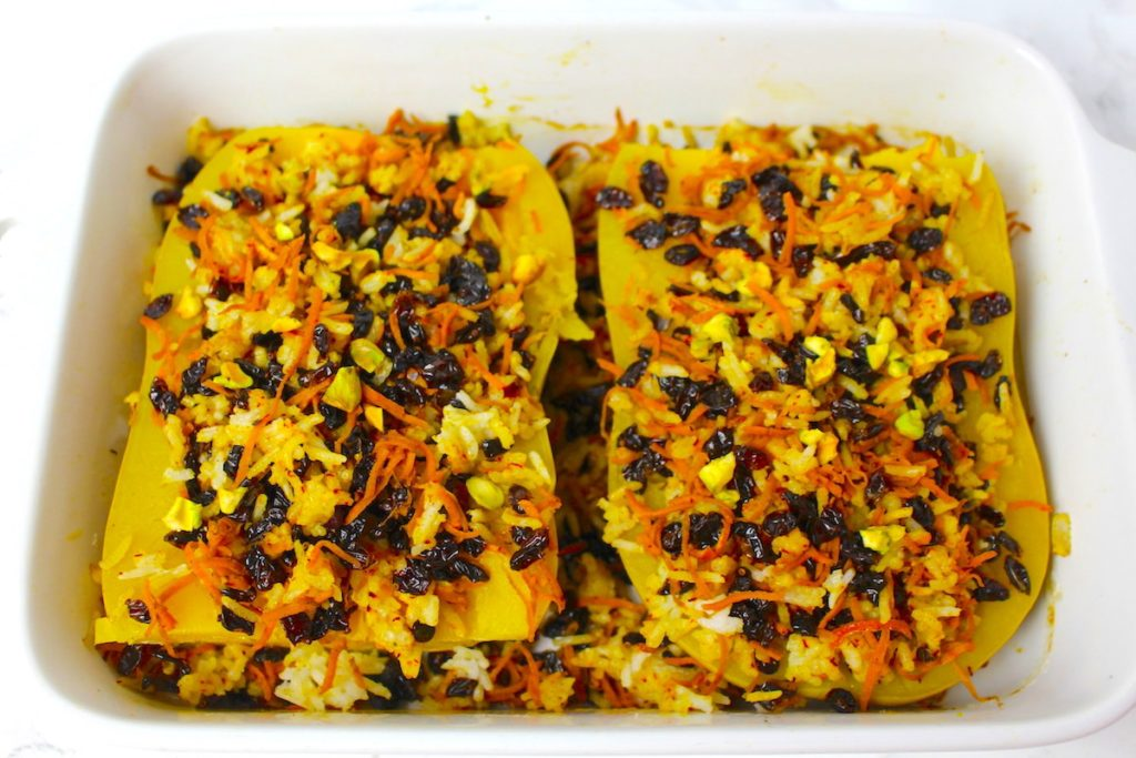 Butternut Squash vegan Persian
