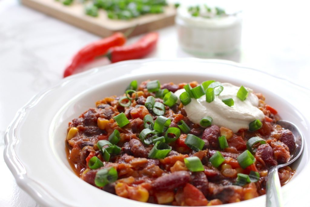 vegan Chili sin carne