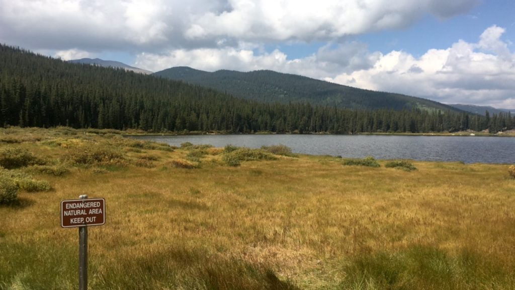 Echo Lake Mount Evans Colorado