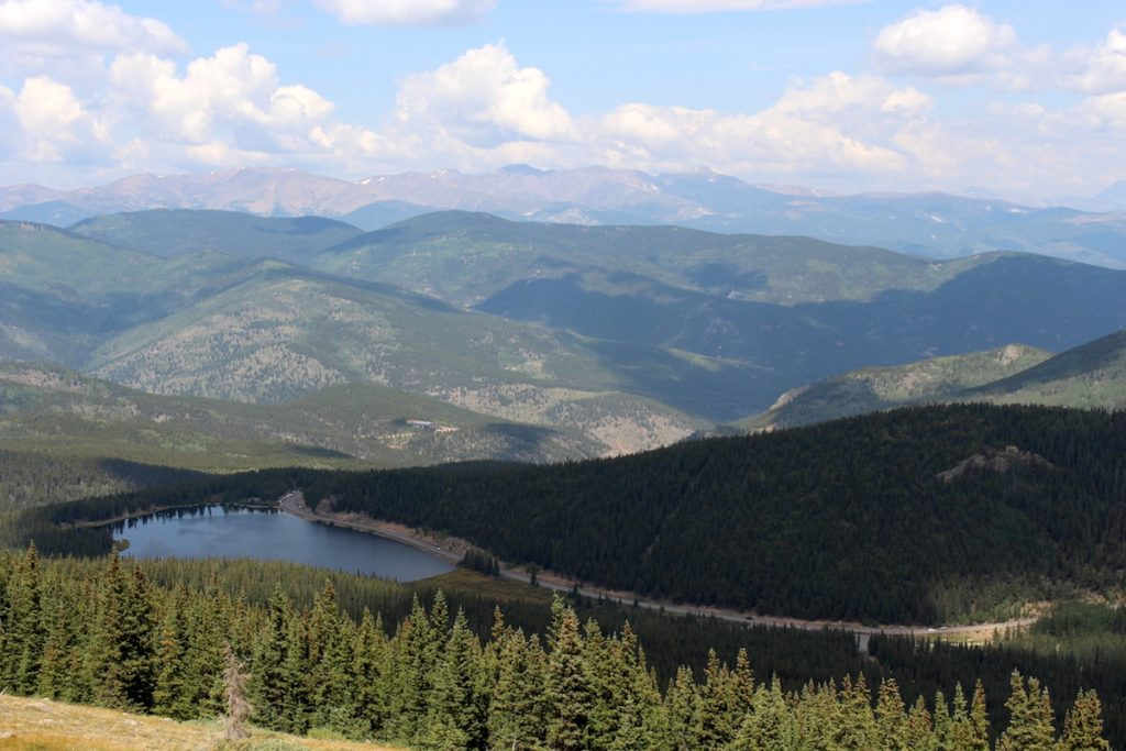Echo Lake Aussicht Mount Evans