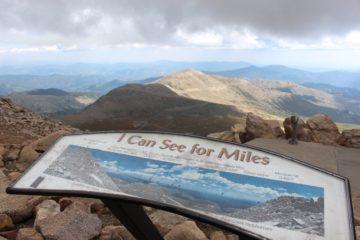 Mount Evans Summit Gipfel Aussicht