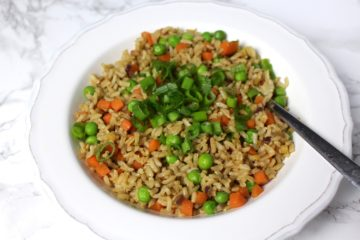 Fried Rice vegan vegetables