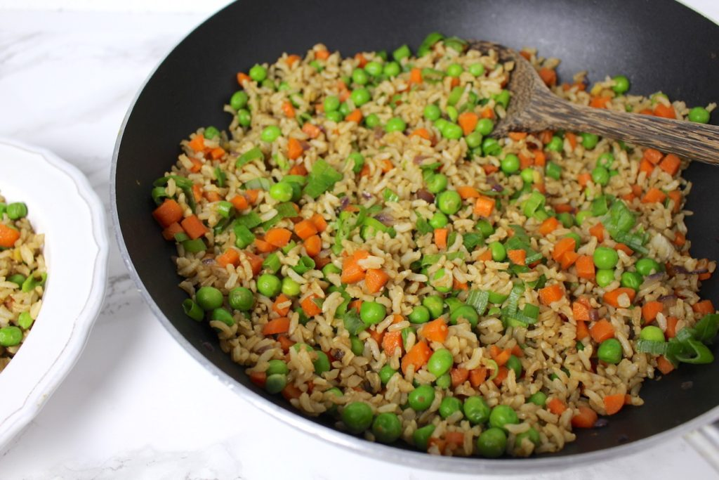 fried rice wok vegan