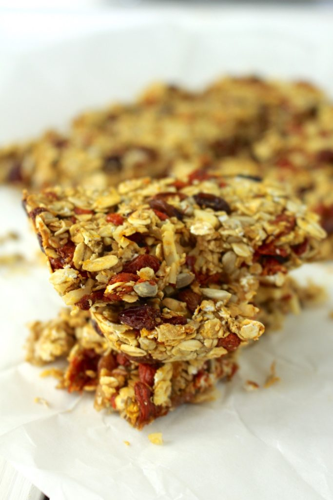 granola bars vegan homemade healthy