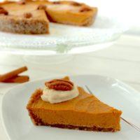 Pumpkin Pie vegan gluten free