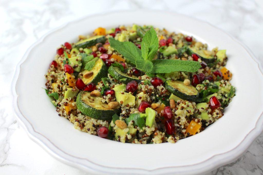 Quinoa Salat vegan zum Mitnehmen