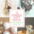 edible gifts vegan gluten free christmas