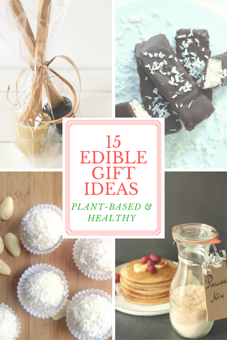 edible gift vegan gluten free christmas