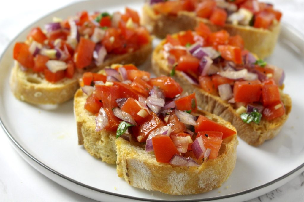 Bruschetta vegan