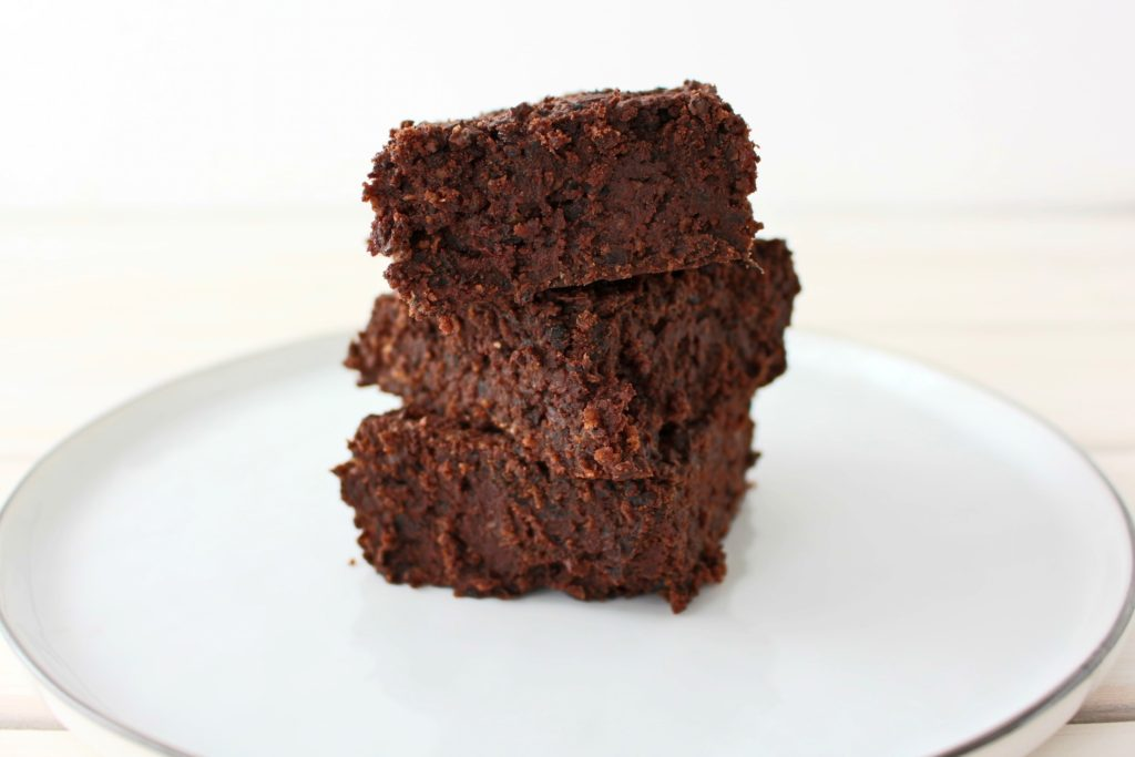 black bean brownies vegan gluten free ice cream