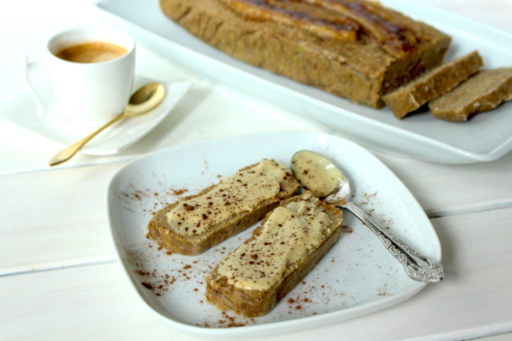 banana bread recipe gluten free vegan
