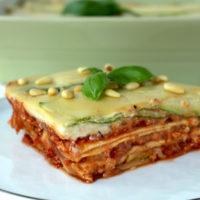 Gemüse Lasagne vegan Lasagna