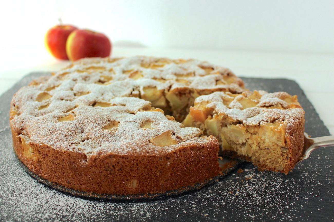 Veganer Apfelkuchen Das Einfachste Und Beste Rezept Minamade