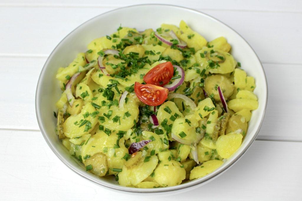 Kartoffelsalat vegan potato salad
