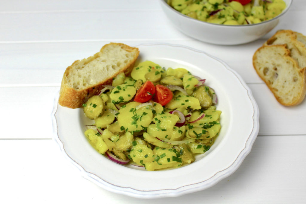 Kartoffelsalat vegan potato salad