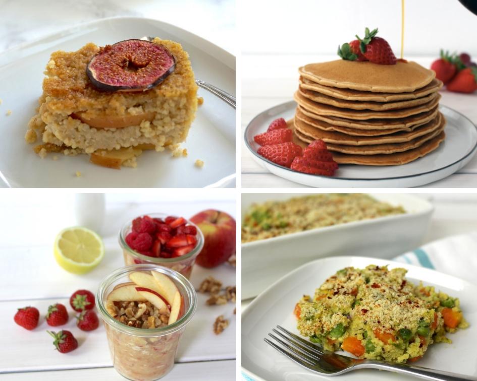 vegan Besuch Frühstück Rezepte vegan