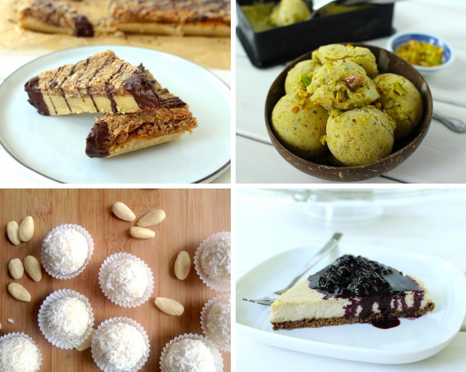 vegane Rezepte Nachtisch Snack Besuch