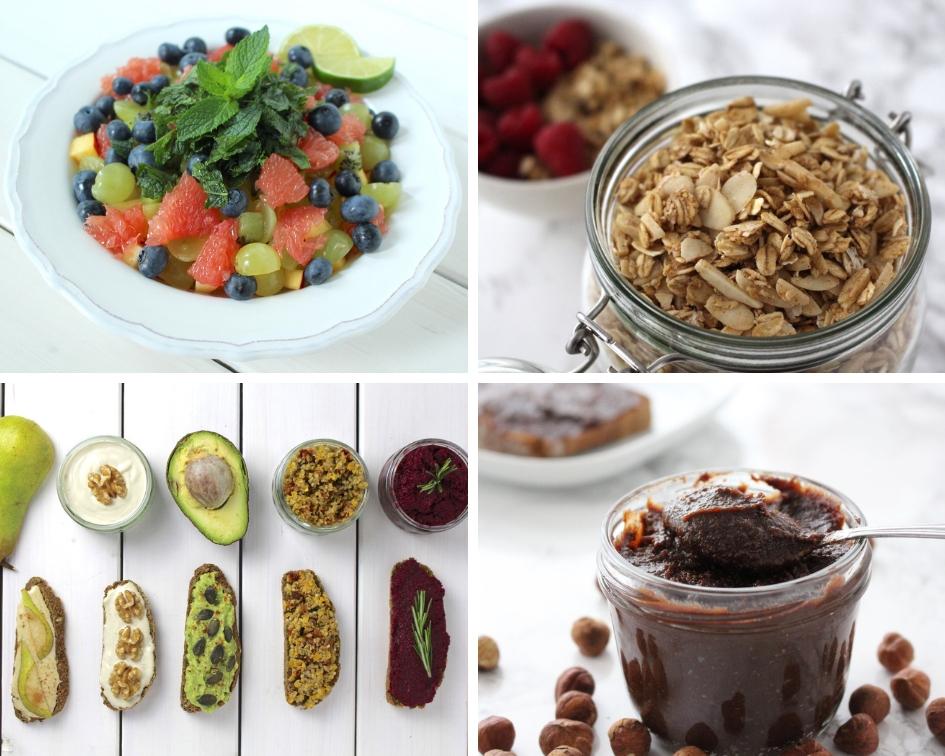 veganer Besuch Frühstück einfache Rezepte