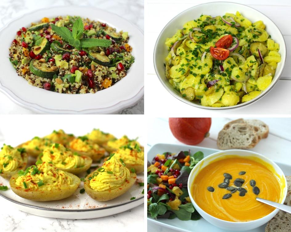 veganer Besuch einfache vegane Rezepte festlich