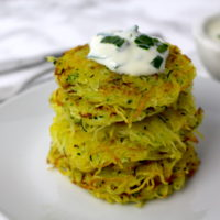 Kartoffelpuffer Reiberdatschi vegan potato fritters