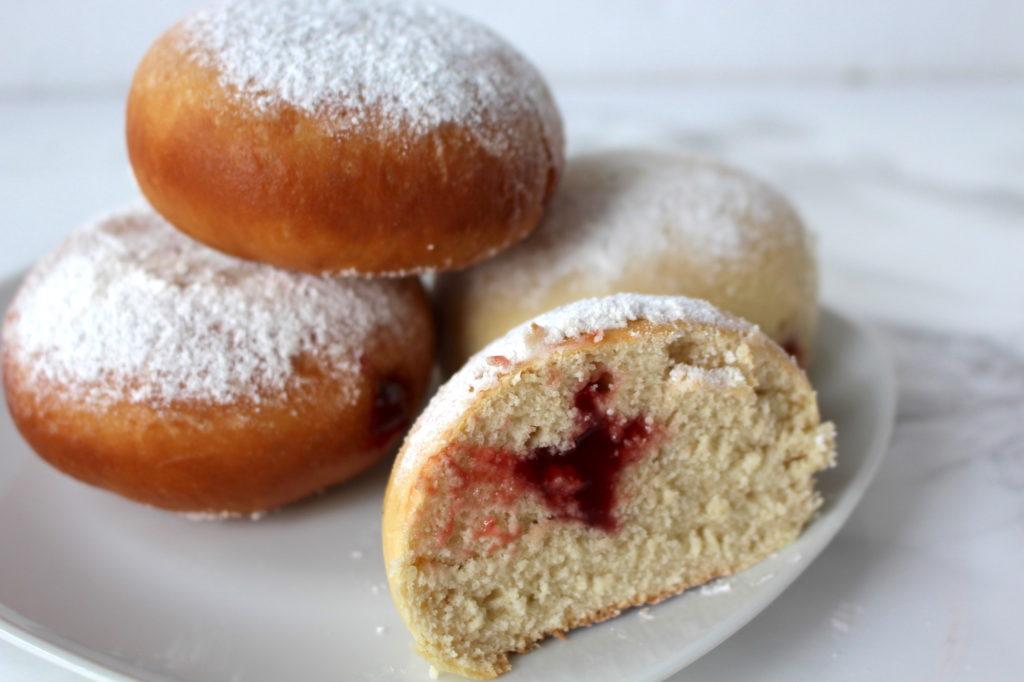 vegan Bavarian donuts doughnut