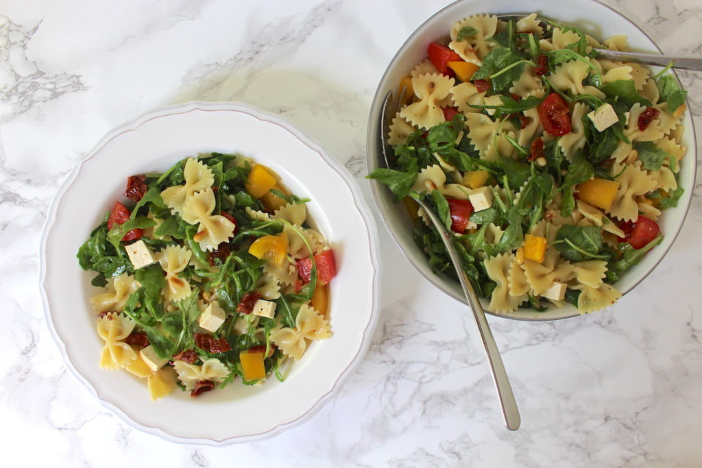 Nudelsalat vegan